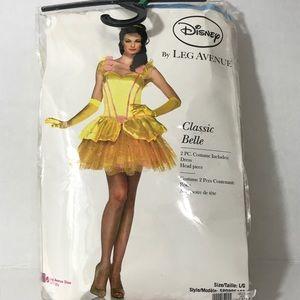 Leg Avenue Disney Belle Sexy Costume Adult Size La